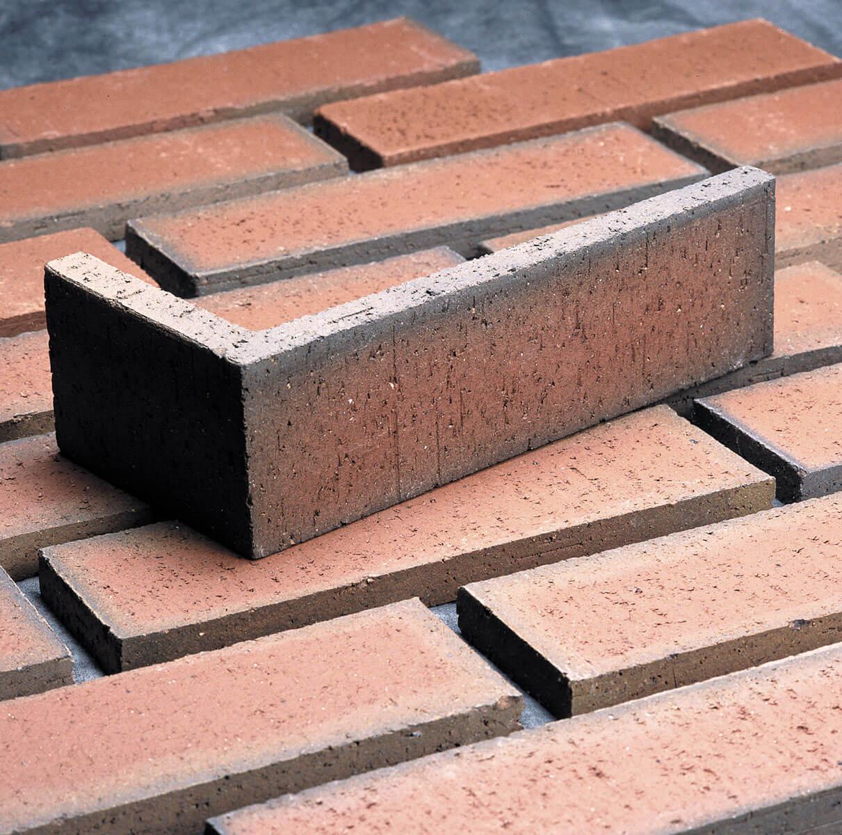 Corner thin brick brick veneer for Modern brick veneer